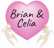Love heart Brian and celia