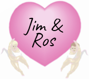 Love heart Jim and Ros