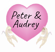Peter and Audrey testiomial heart